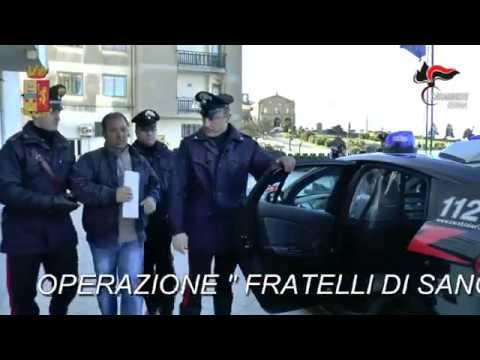 """OPERAZIONE """"FRATELLI DI SANGUE"""": GLI ARRESTI"""