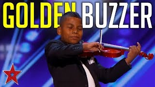Kid Musician Gets Simon Cowell's GOLDEN BUZZER On America's Got Talent 2019 | Got Talent Global