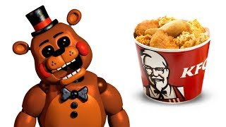FNAF Characters and their favorite FOODS