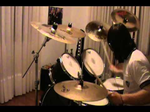 Metallica Master of Puppets cover de batería