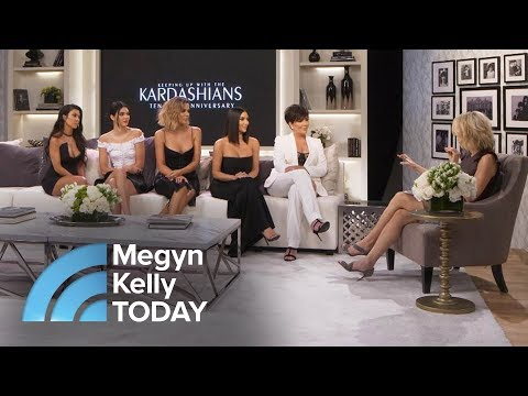 10 Years Of 'Keeping Up With The Kardashians': Kris Jenner, Kim K Look Back   Megyn Kelly TODAY