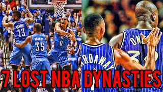 7 Teams That Should Have Won Multiple NBA Championships