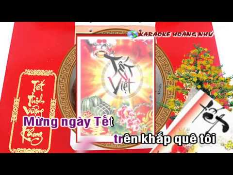 [Karaoke Full HD] Ngày Tết Quê Anh