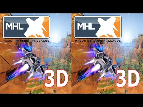 3D VR TV Major Hyperdrift League video SBS by 3D VR TV PC Games Videos