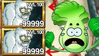 Plants Vs Zombies 2 Zombie Yeti Nivel 100