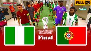 PES 2021 | NIGERIA vs PORTUGAL | Final FIFA World Cup 2022