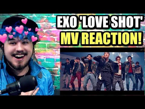 EXO 엑소 'Love Shot' MV | THE VISUAL KINGS ARE HERE! | REACTION!!