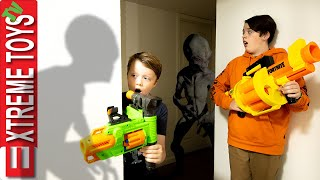 Strange Cloaked Creatures Haunt Ethan and Cole! Invisible Monsters Attack!