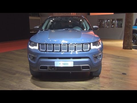 @FCAgroup Jeep Compass Trailhawk 4x4 (2017) Exterior and Interior in 3D