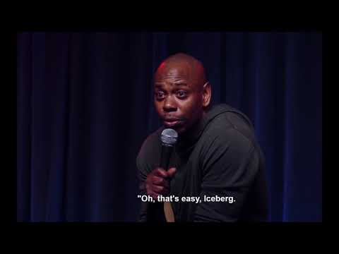 Dave Chappelle | On Iceberg Slim | That's some cold shit