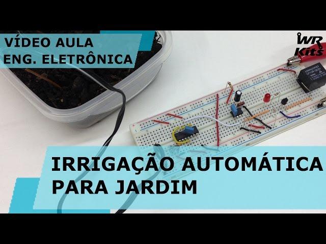 IRRIGAÇÃO AUTOMÁTICA PARA JARDIM | Vídeo Aula #140
