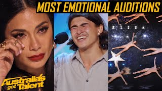 The Most EMOTIONAL AUDITIONS | Heartfelt Auditions | Australia's Got Talent 2019