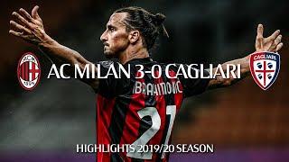 Highlights | AC Milan 3-0 Cagliari | Matchday 38 | Serie A TIM 2019/20