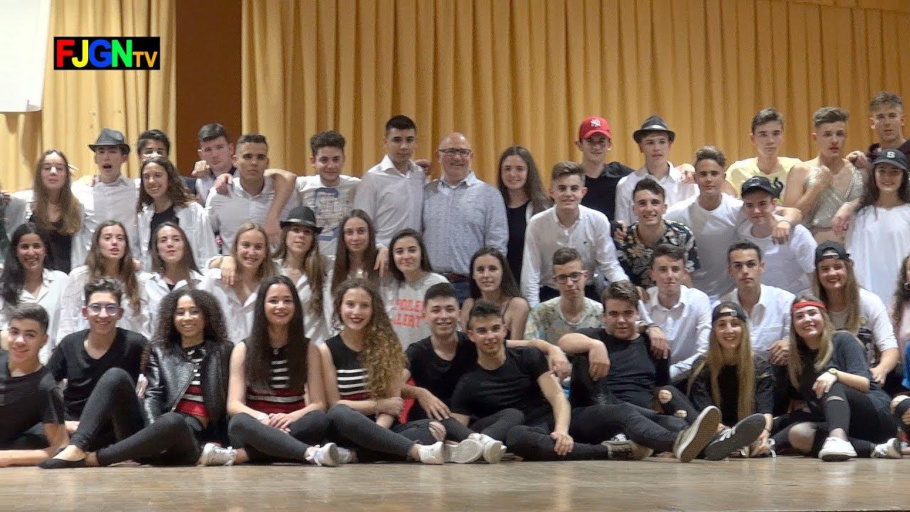15. Despedida alumnos - Bailes Educacion Fisica 2018 IES Nules