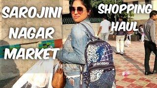 Sarojini nagar market haul   winter shopping haul   dekhiye kya kya liya meine Sarojini nagar se