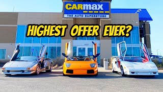 I Took My Lamborghini Collection To Carmax For An Appraisal