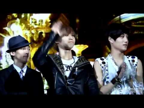 lll229 Taemin with EXO members & SMTown hyungs fancam@$B$ GaY0