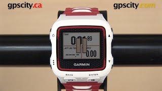 Garmin Forerunner 920XT: Auto Pause with GPS City