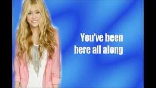 Been Here Along- Hannah Montana (Lyrics On Screen)