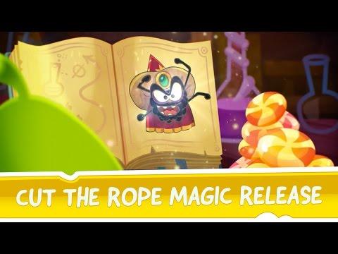 Cut the Rope: Magic, il trailer del nuovo free game GamePix