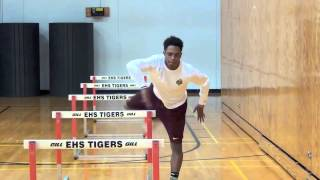 Edwardsville Hurdle Drills