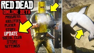 *NEW* HUGE RED DEAD ONLINE UPDATE! New Game Modes, New Fishing Challenges, Clothing Additions!
