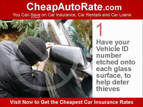 Cheap Car Insurance -  How to Get the Lowest, Best, Cheapest Auto Insurance Rates & Prices (video)