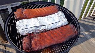 Smoked Spare Ribs Test: Wrap or Unwrap???