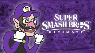 Waluigi for Super Smash Bros Ultimate | Original Arcade Cloud Animation