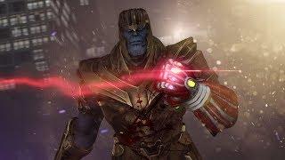 If Endgame Had A Dark Ending   Avengers Endgame - Animated Battle
