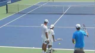 """Novak Djokovic has fun with a fan (""""Will you marry me?"""") - marriage proposal - ORIGINAL"""
