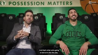 Enes Kanter Explains How He Controls the Offensive Boards | TD Bank Film Study