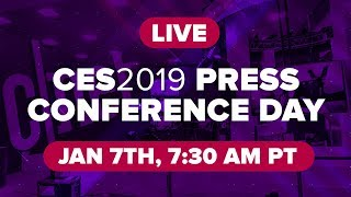 CES 2019 press conference day