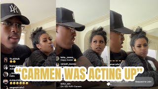 Corey explains why he tried to get Carmen Deported...😳💔