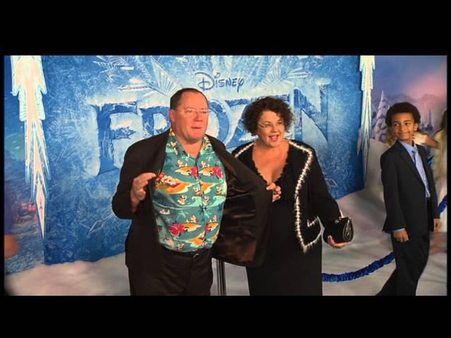 Замръзналото кралство - видео от световната премиера