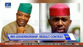 Controversy Over  Imo Gov'ship Poll As Nwosu Alleges Fraud Pt.2  Politics Today 