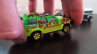Matchbox Jurassic World (Island Explorers) 5 Pack