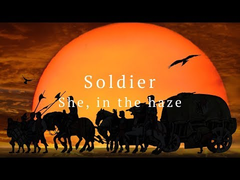 She, in the haze - Soldier (Official Audio)