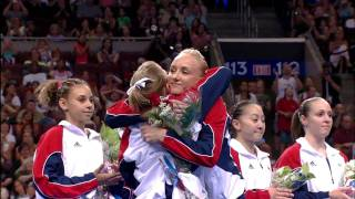 Shawn Johnson and Nastia Liukin Named to the Team - 2008 Olympic Trials - Day 2