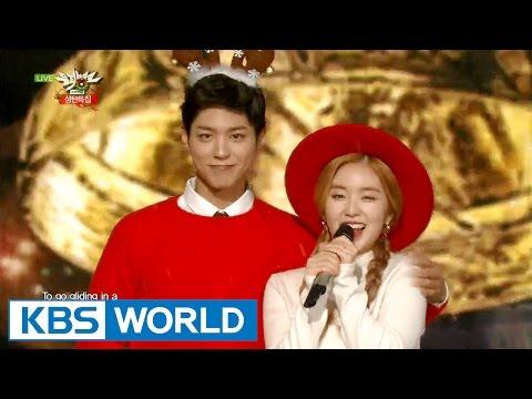 Park Bogum & Irene (박보검 & 아이린) - Jingle Bell Rock [Music Bank Christmas Special / 2015.12.25]