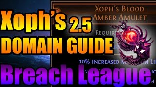 Path of Exile: Breachlord (Fire) Xoph- Boss Fight Guide 2.5 Breach League