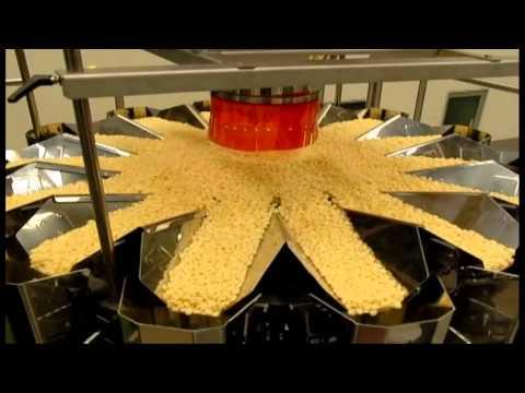 Mehrkopfwaagen für Snack / Multihead weigher for Snack