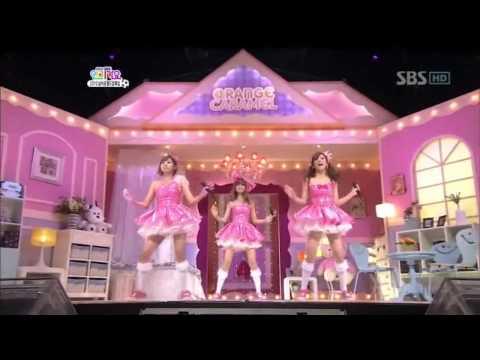 Orange caramel - Magic girl (오렌지 캬라멜 - 마법 소녀) @ SBS Inkigayo 인기가요 100620