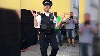 Watch: Top five dancing policemen