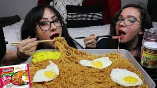 SPICY INDOMIE MI GORENG MUKBANG | WHAT'S YOUR NAME? | EATING SHOW