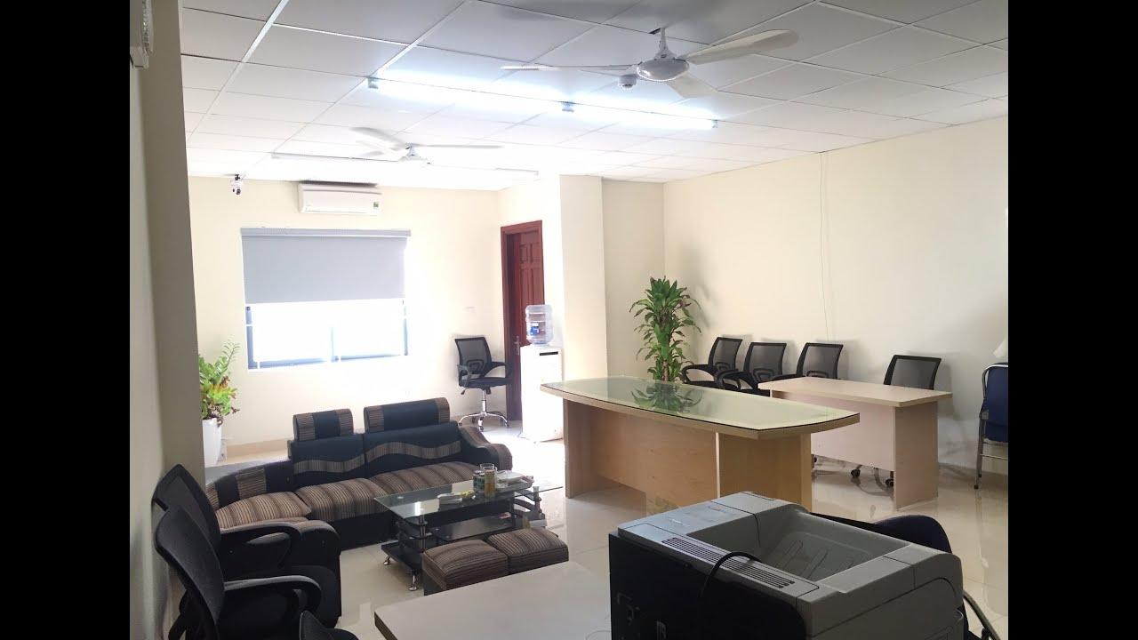 Cho thuê văn phòng 50m2 - 55m2 tòa nhà Up-Office số 2 Phùng Chí Kiên, gần Tràng An Complex, SD ngay video