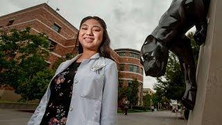 Nữ sinh viên gốc Việt tốt nghiệp dược sĩ ở tuổi 19