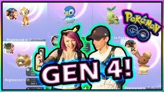 ALL GEN 4 NEWS W/ TRAINER TIPS IN POKEMON GO!