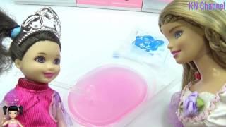 ChiChi ToysReview TV - Trò Chơi Búp bê làm bánh slime với mẹ