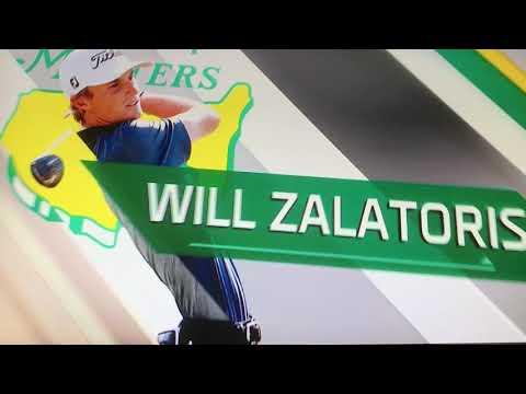 ESPN's Will Zalatoris Analysis, Masters Golf 2021 Breakout Star